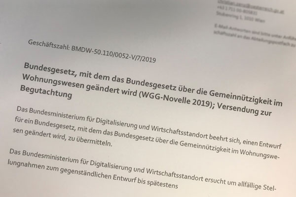 WGG Novelle 2019